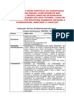 Portfolio UNOPAR Adm e Cco 3 e 4 - Empresa BONITTA - Encomende Aqui 31 996812207