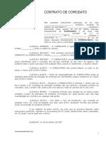 Contrato de Comodato (modelo veiculo).doc