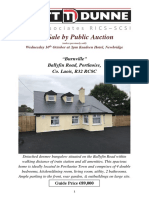 Brochure Auction - Burnwood, Ballyfin Road, Portlaoise - PDF