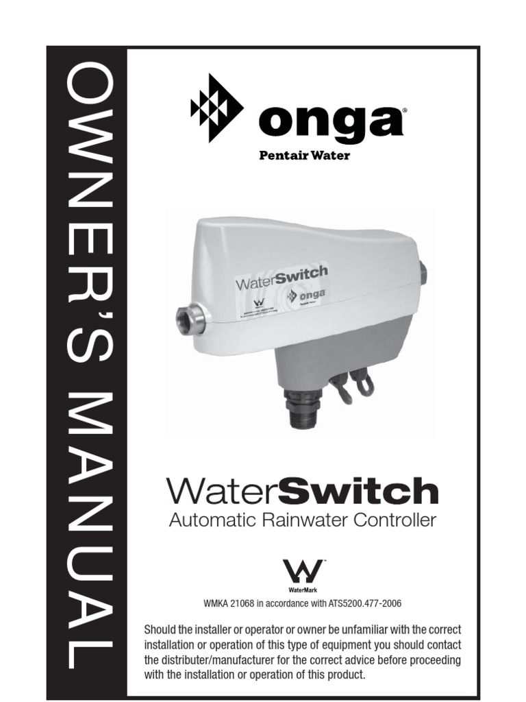onga water switch owners manual 270906 electrical connector pump rh scribd com Onga Pumps Parts Portable Transfer Pump