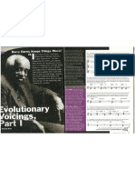 Barry Harris Chord Techniques Evolutionary Voicings