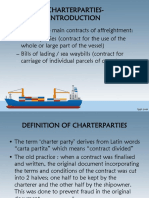 Chapter 5 Charterparties
