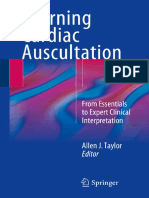 Auscultation - Cardiac - Learning Cardiac Auscultation From Essentials to Expert Clinical Interpretation 1st Ed2015