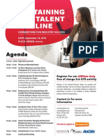 PRMA WC-Sustaining the Talent Pipeline-Agenda