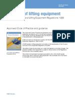 l113 - ACoP to LOLER pdf.pdf