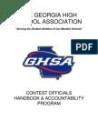 GHSA Handbook & Accountability