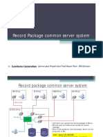 Explanation for Package Server System