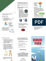 Dengue Tagalog Pamphlet Hawaii