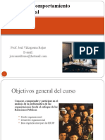 Dinámica y Comportamiento Organizacional 2010 II