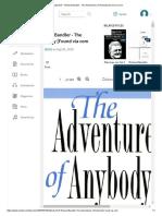 [eBook] NLP - Richard Bandler - The Adventures of Anybody [Found via Com