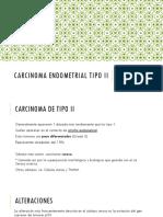 Carcinoma endometrial tipo II y TMMM.pptx