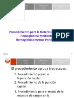 Procedimiento Para Determinar La Hemolgobina. n