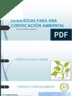 Certificacion Green y Certificacion Leed