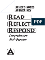 Read Reflect Respond a AK