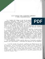Las Tareas Del Partido Obrero y El Campesinado - Lenin - 5 Páginas