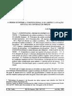BARROSO_A Ordem Economica Constitucional e Os Limites a Atuacao Estatal No Controle de Preços