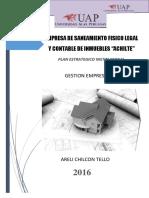 Pei Empresa de Saneamiento Fisico Legal y Contable de Inmuebles