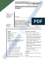 11768 - 1992 - Eb 1763 Aditivos Para Concreto de Cimento Portland