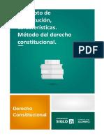 1-1.3 M1 Concepto de constitución, características. Método del derecho constitucional..pdf