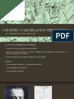 Catastro y Legislacion Territorial III