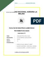 Lab 1 .Tratamiento de Aguas.analsis Fisico Del Agua[1][1]