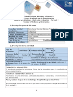 Guía de Actividades y Rúbrica de Evaluación - Fase 2 - Fundamentos de Ingeniería, Evaluación de Proyectos