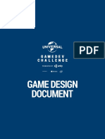 GameDesignDoc Universal Game Dev Challenge