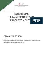 SESION 5.- Estrategias de La Mercadotecnia - Producto y Precio