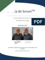 2017 Scrum Guide Spanish SouthAmerican