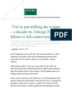 Chicago Parking Meters story Infrastructure Investor September 2018