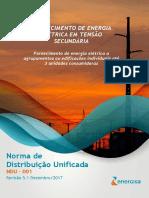NDU 001 - Fornecimento de Energia Elétrica em Tensão Secundária Edificações Individuais ou Agrupadas até 3 Unidades V5.pdf