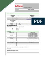 Ficha de Datos Del Postulante, Declaración Jurada- Caja Sullana