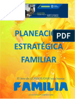 Planeacion Estrategica Familiar Cartilla