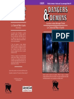 CHDDP1 La Cripta del Male è Aperta (Dangers & Demons) Copertina