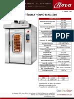 Nova - Ft Horno Max 750