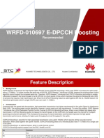 Study Report of WRFD-010697 E-DPCCH Boosting