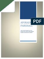 Trabajo Academico - Aforador Parshall