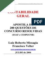 Luiz Roberto Messagia - 200 Questões de Contabilidade.pdf