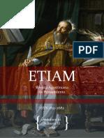 ETIAM revista Agustiniana de Pensamiento Vol X Nro 11 ISSN 1851 -2682