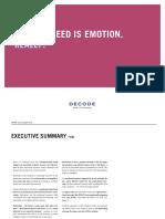 Emotion in Advertising