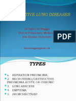 Supprative Lung Diseases