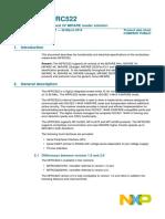 RC522 Datasheet