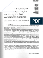 'Ecologia' e condições físicas da reprodução social - alguns fios condutores marxistas, François Chesnais e Claude Serfati.pdf