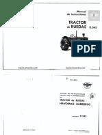 HBarreiros R545 Manual Uso Mantenimiento