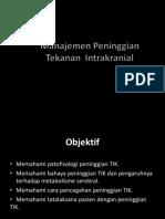 tekanan intrakranial