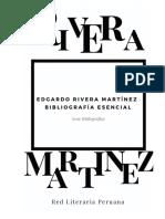 Bibliografía de Edgardo Rivera Martínez