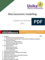 1 Economic Modelling