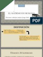 DIAPOSITIVAS MATRIMONIO ROMANO (OSMAR CAMPOS).pptx