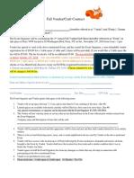 FALL Vendor Contract 2018