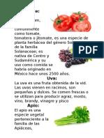 Plantas Del Bebe